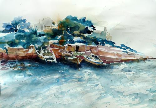 Menorquinische Boote