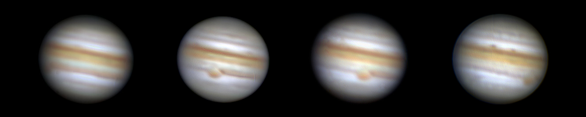 Jupiter in seiner Rotation