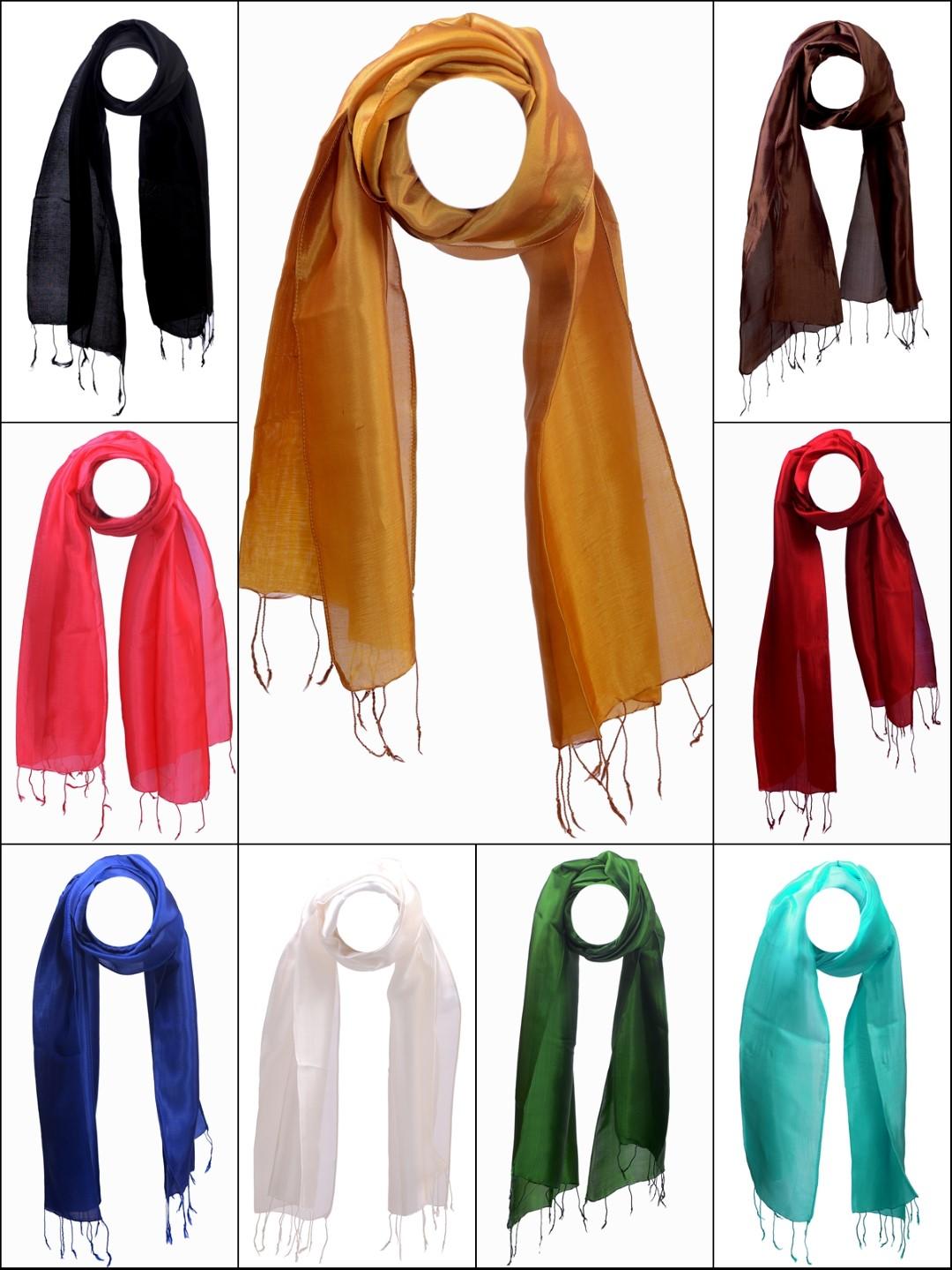 Seidenschals und t cher aus thai seide kaufen your silk shop - Seidenschal binden ...