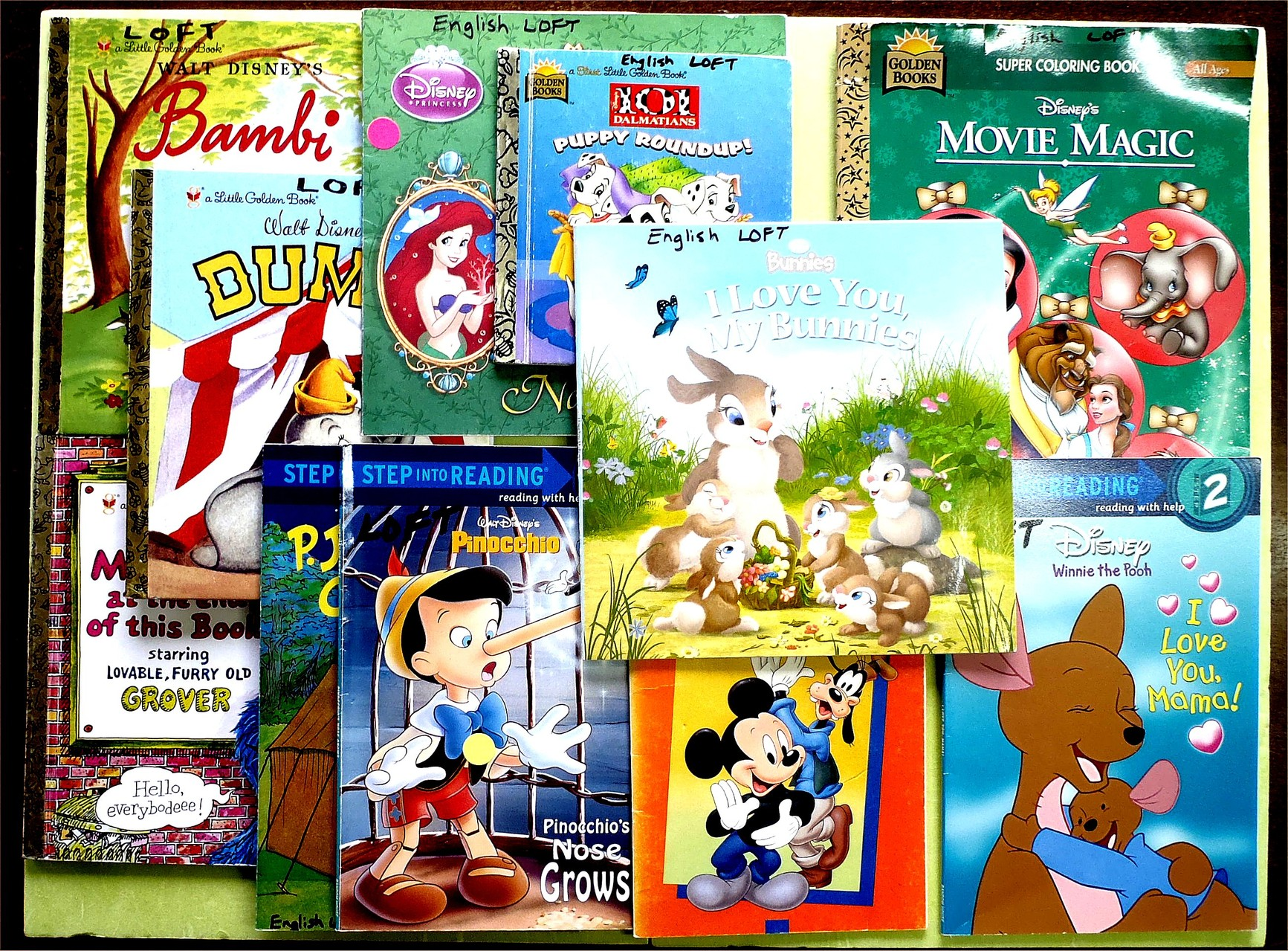 Some Disney books