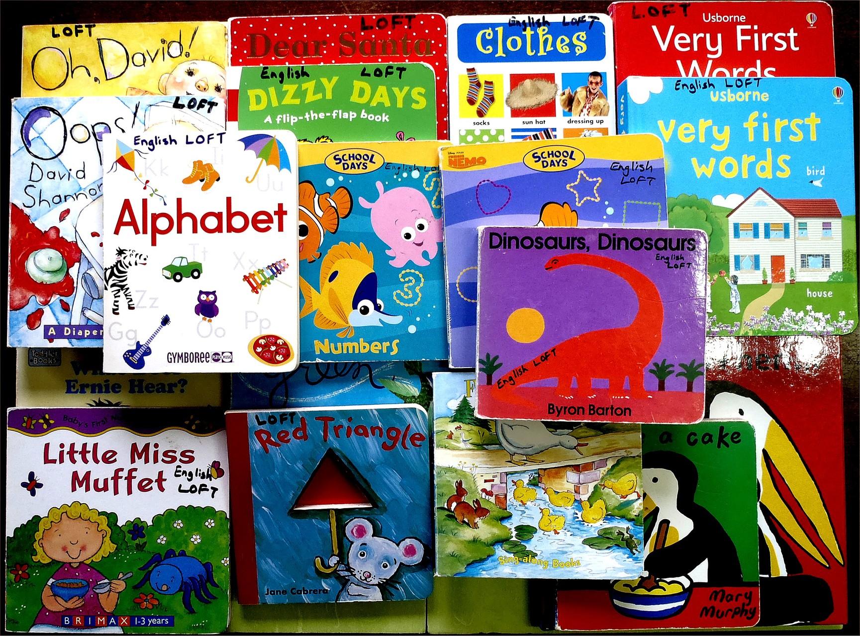 Hard bound children's books