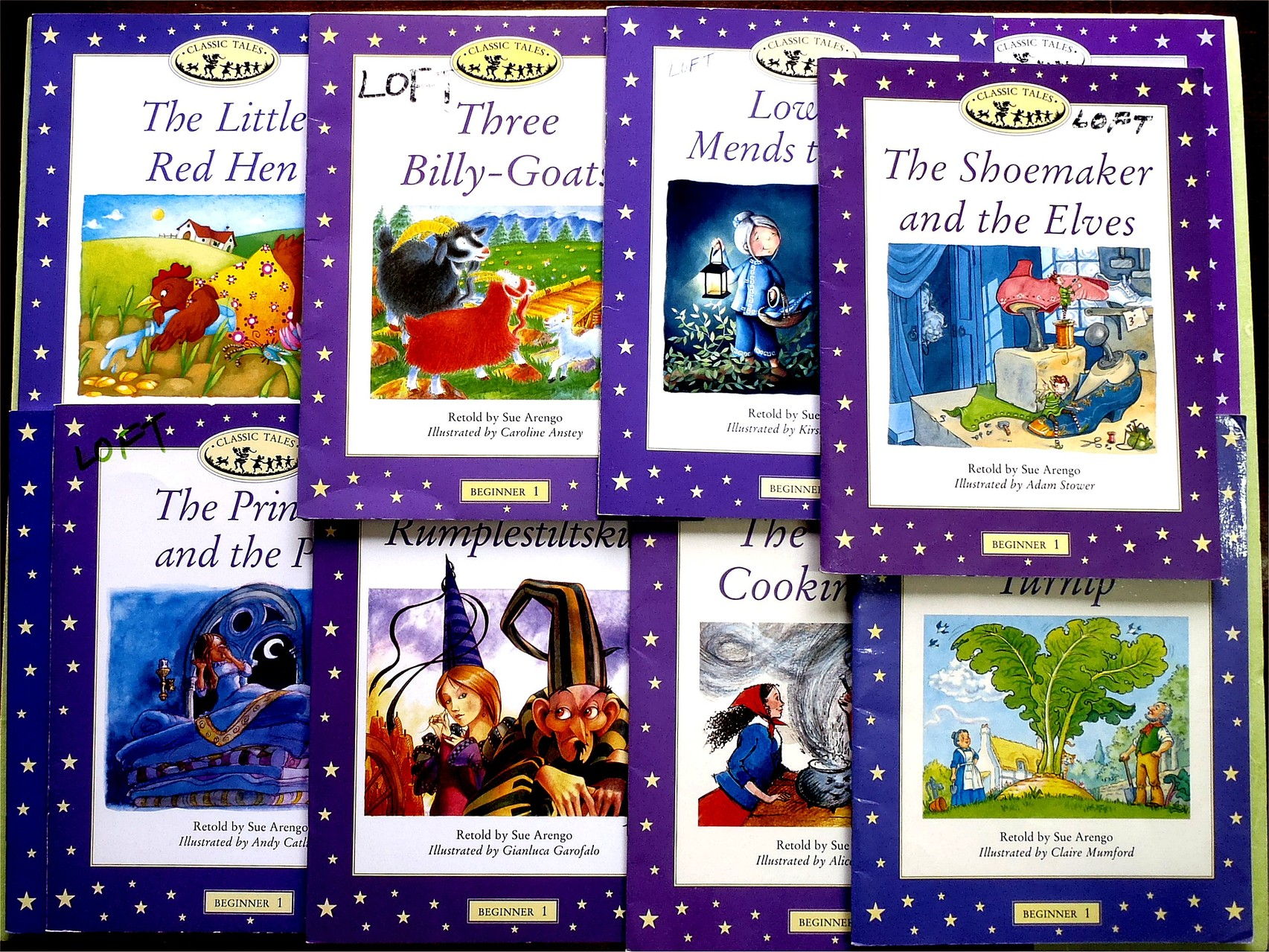 Classic Tales (Beginner Level 1)