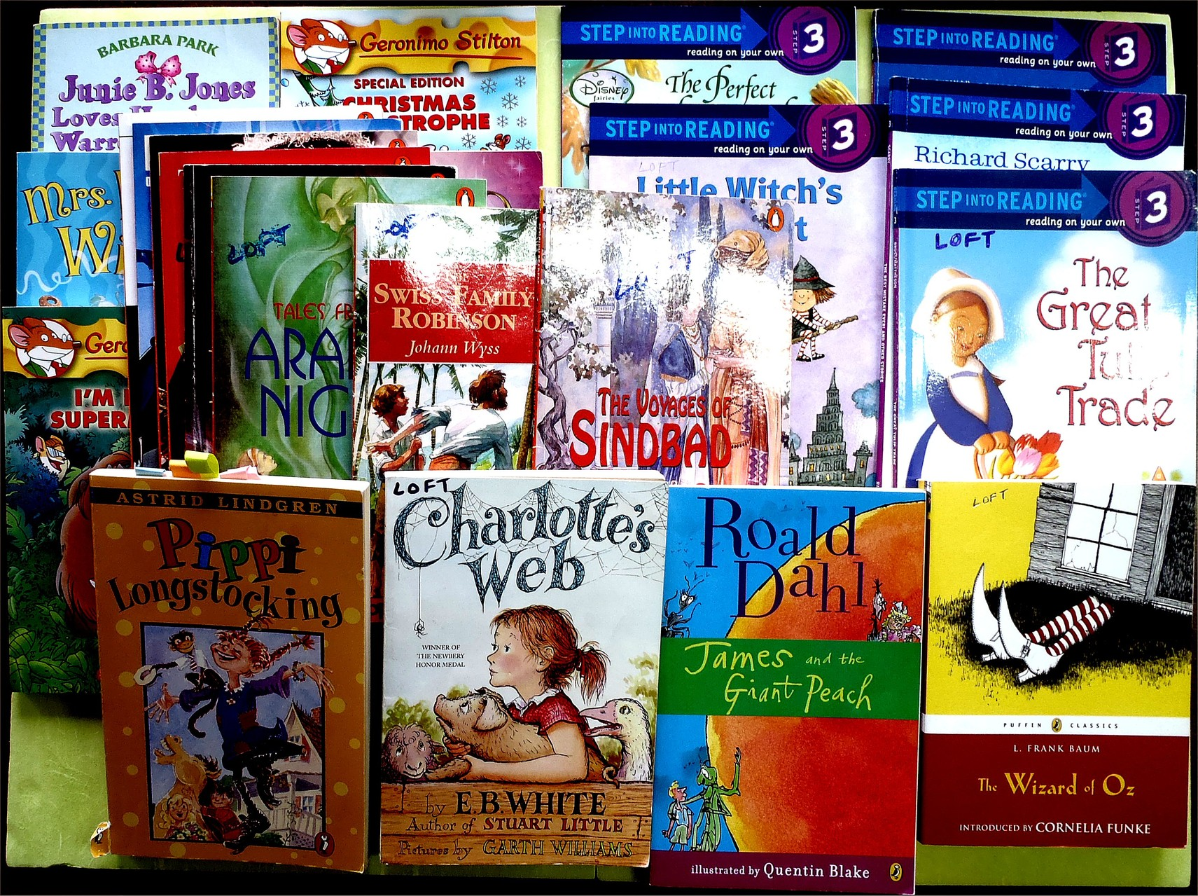 Some children's novels