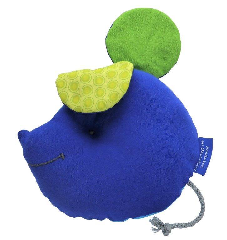 Sinnesmaus türkis-blau