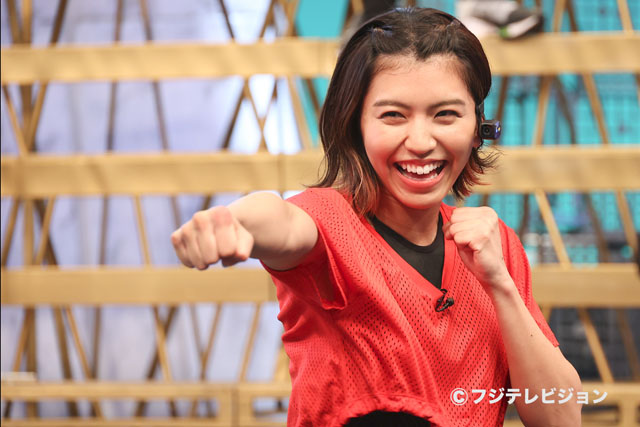 ぱんちゃん璃奈が『ジャンクSPORTS』に出演しますっ!