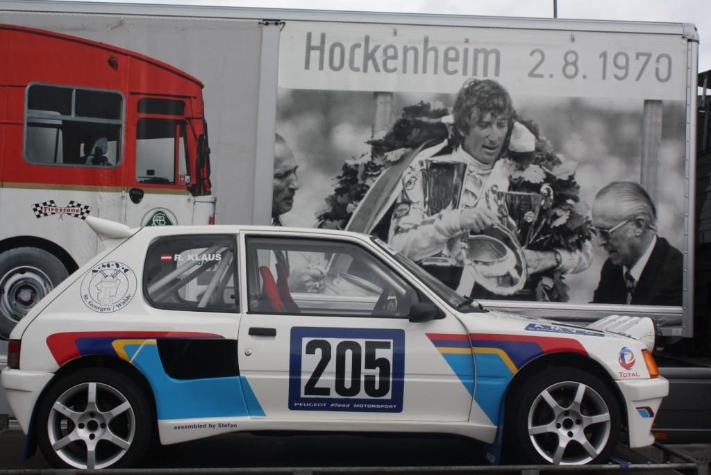 """Austellung bei der """"Jochen Rindt Party"""" in Saxen (Juni 2012)"""