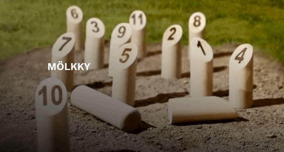 Mölkky - wikinger Kegeln - ein Spiel aus Finnland