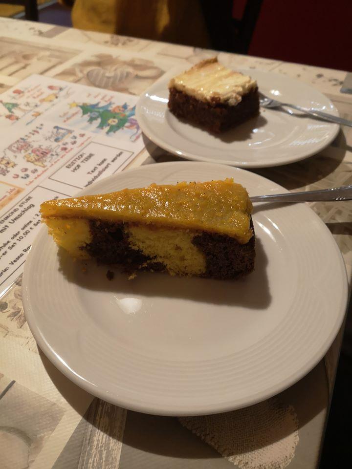 Haus Kuchen - Mandarinen Marmorkuchen und Graf von Benzenberg Kuchen