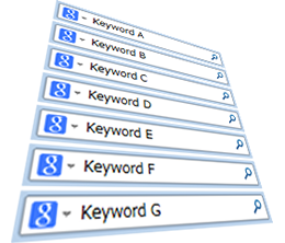 複合キーワードで幅広い集客を