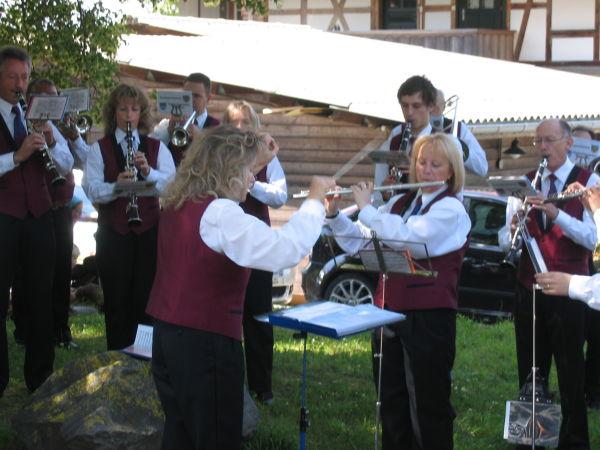 Unsere Dirigentin Therese Spycher