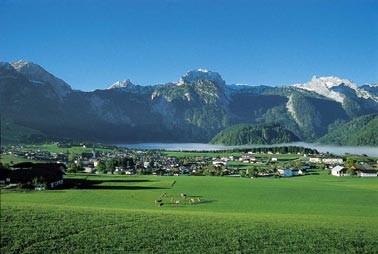 Abtenau, Blick auf das Tennengebirge