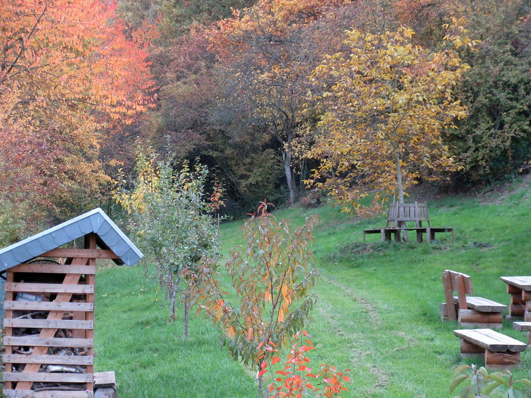 Herbstlicher Garten