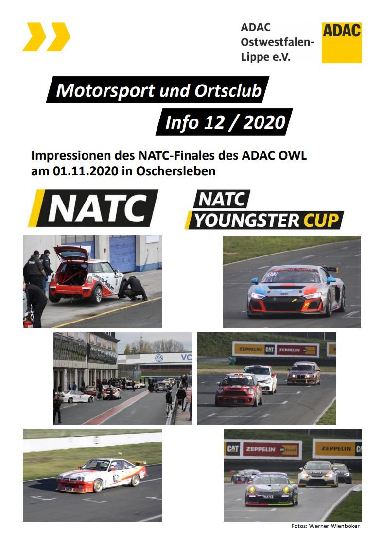 Motorsport und Ortsclub Info 12 20/21