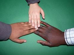 drei Hände - drei Kulturen