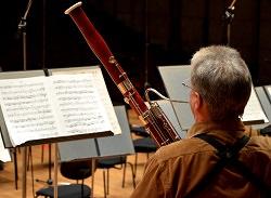 Fagottspieler Solo