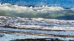 Brandung am Meer Wellengang