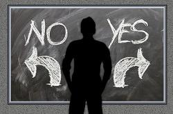 No oder yes - triff eine Entscheidung