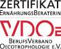 Zertifikat Ernähtungsberater VDOE