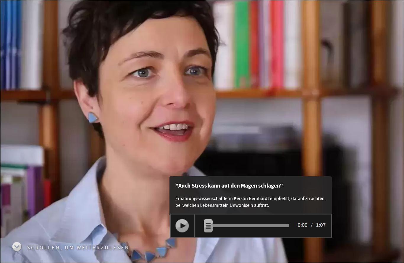 WDR Reportage: Lebensmittelintoleranzen