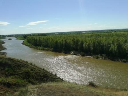 Петропавловск. Ишим