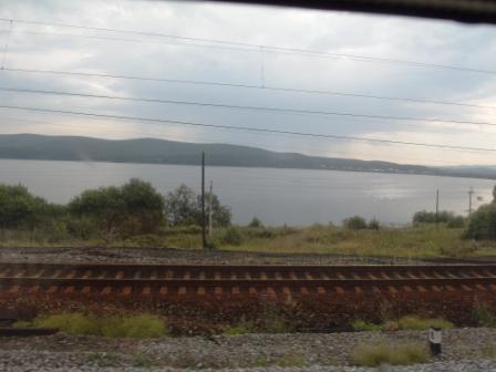 Урал. Озеро перед Миассом
