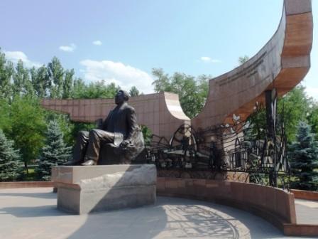 Алматы. В Президентском парке