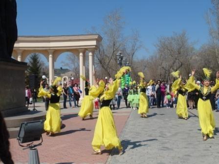 1 Мая. Казахский танец