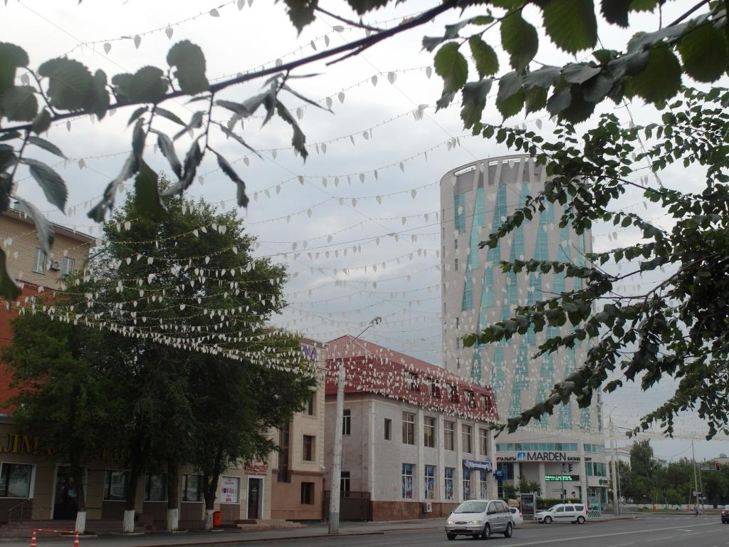 Астана. Начало прогулки по Бейбетшилик
