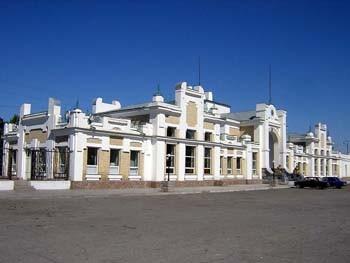 Железнодорожный вокзал Арысь 1. Начало ХХ века