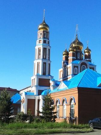 Храм Вознесения Господня в Петропавловске