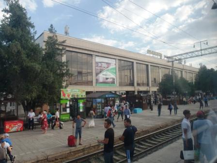 Шымкентский вокзал