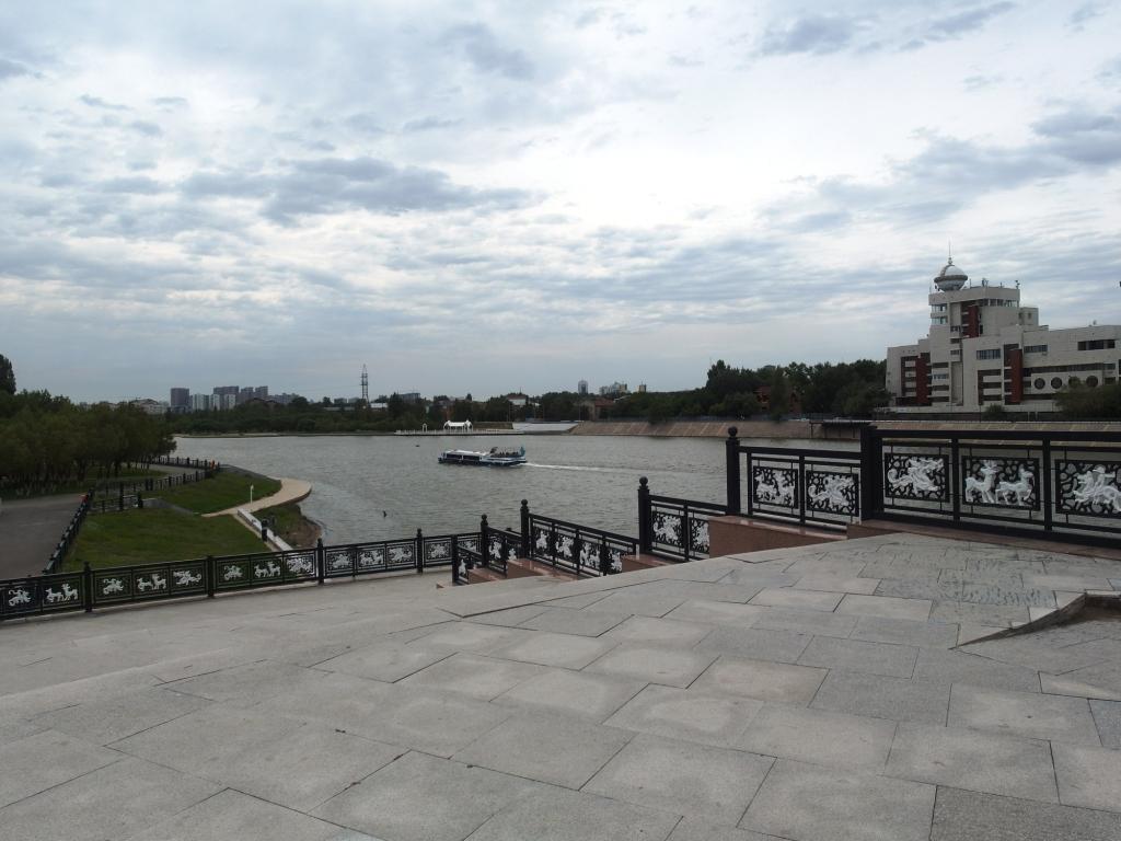 У моста через Ишим