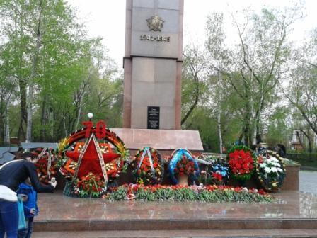 Петропавловск, 9 Мая, День Победы