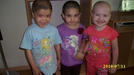 Лейкоз у детей. Три подружки