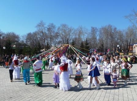 Петропавловск, праздник, 1 Мая