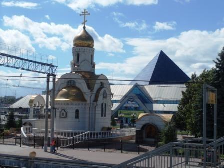 Церковь в Челябинске