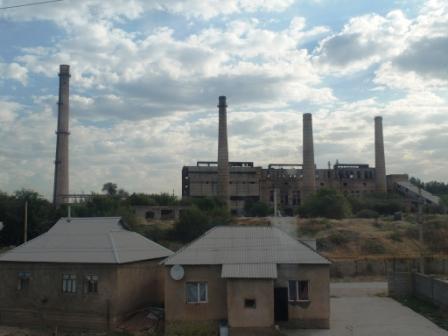 Заброшенный свинцовый завод в Шымкенте
