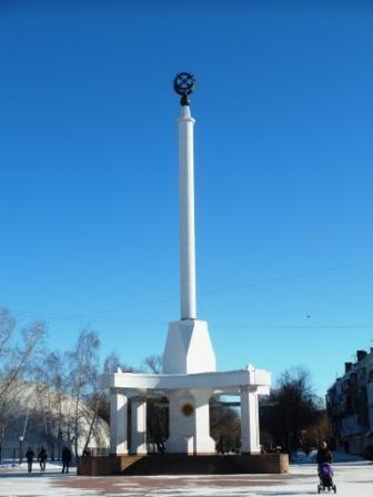 Петропавловск. Площадь Независимости