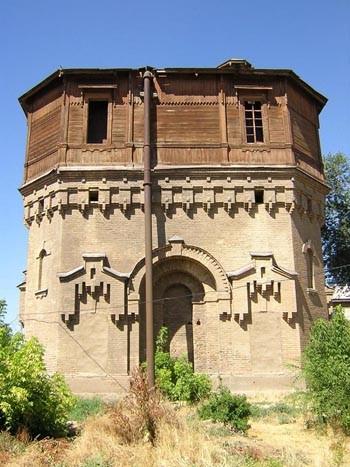 Водонапорная башня. Начало ХХ века