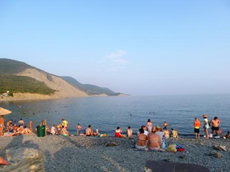 Последний взгляд на пляж