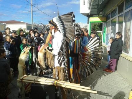 Петропавловск, индейцы, музыканты