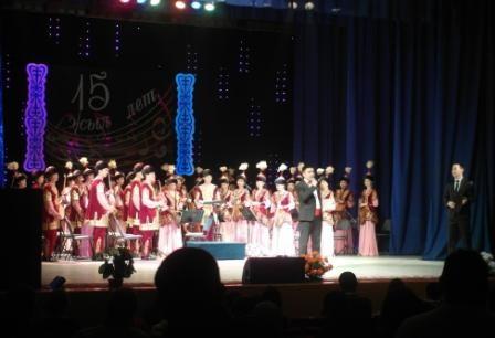 Поздравления от дирижёров других казахстанских оркестров казахских народных инструментов