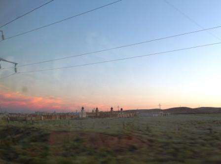 Город мёртвых на закате