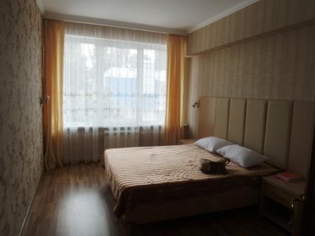 Вторая спальня. Наша с Мишкой