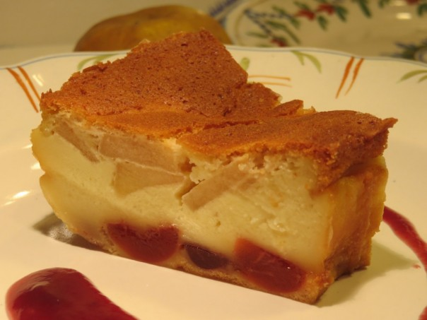 Gâteau Magique aux pommes, à la Normande