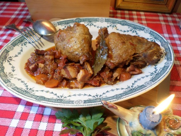 Cuisse de dinde en cocotte de la Mère Mitraille - Canal Gourmandises