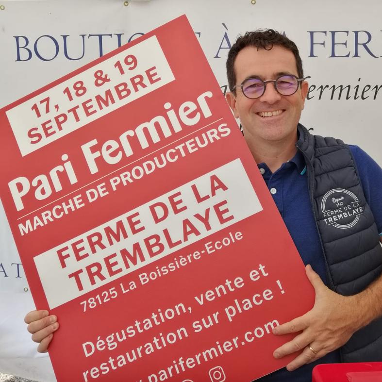 Ferme de la Tremblaye (78) : PARI FERMIER du 17 au 19 septembre 2021