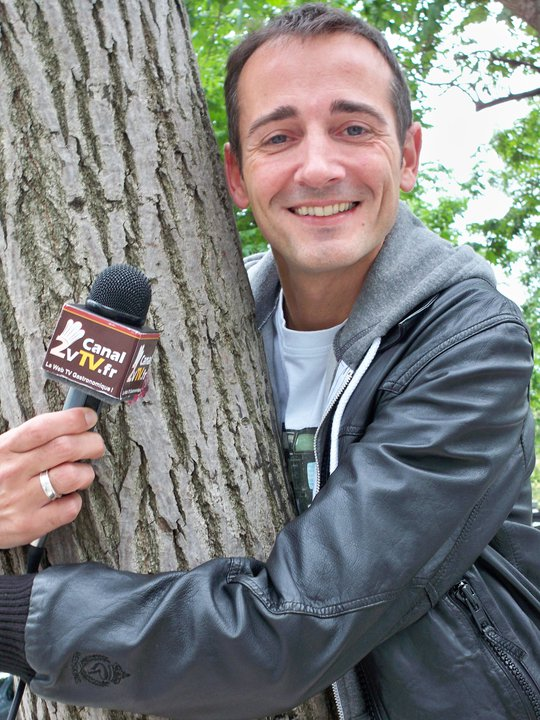 Le comédien et animateur Marc Choquet de Chérie FM - Crédit photo : Ch.D Juin 2010