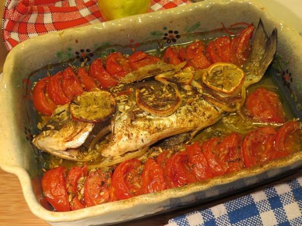 Dorade royale au fenouil cuite au four par la Mère Mitraille - Canal Gourmandises