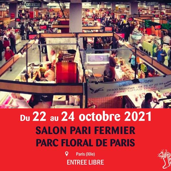 Parc floral de Paris-Vincennes, du 22 au 24 octobre 2021, PARI FERMIER